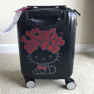 NWT Hello Kitty hard suitcase